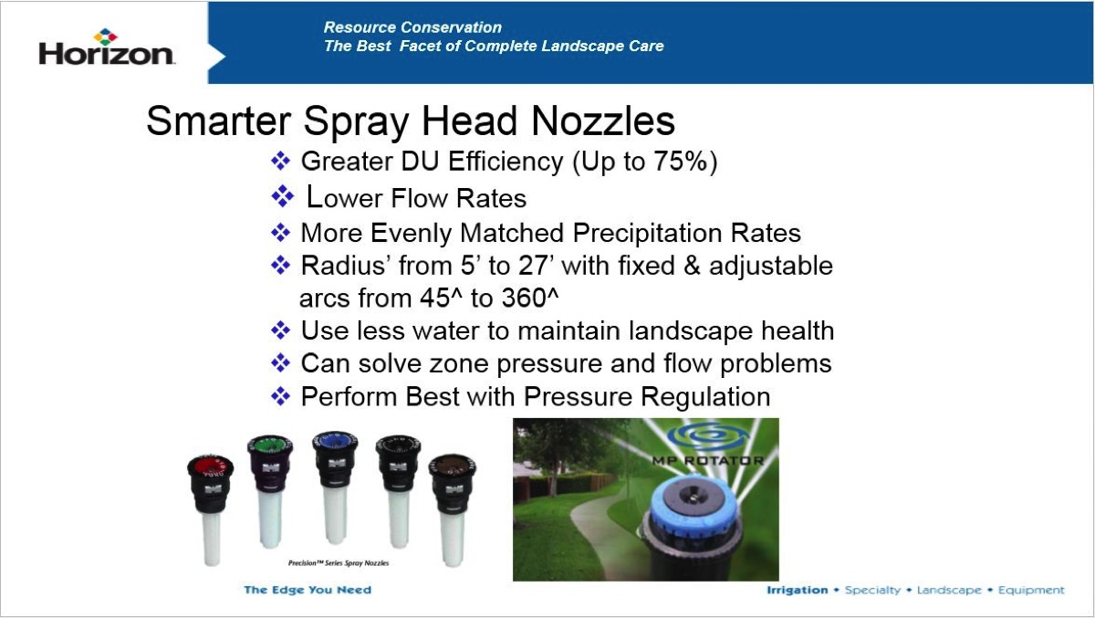 3 Spray Nozzles That Quickly Fix Inefficient Irrigation Systems