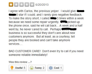 Yelp Review for Cialdini Article